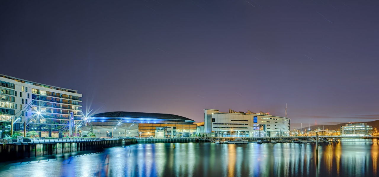 Sse Arena By Night